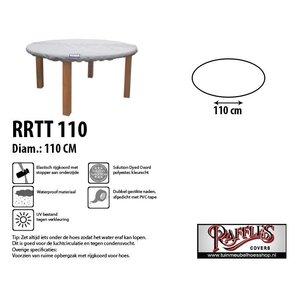 Hoes voor rond tafelblad, D: 110 cm