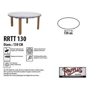 Ronde beschermhoes voor tafelblad, D: 130 cm