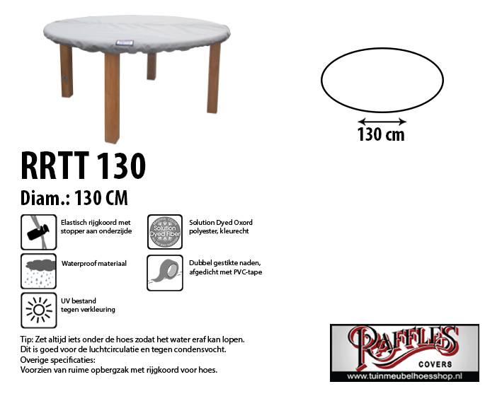 Tafelblad Rond 100 Cm.Ronde Beschermhoes Voor Tafelblad 130 Cm Kopen