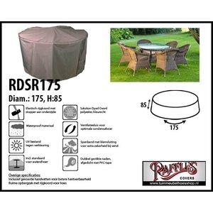 Afdekhoes voor ronde tafel met stoelen, Ø 175 cm H: 85 cm