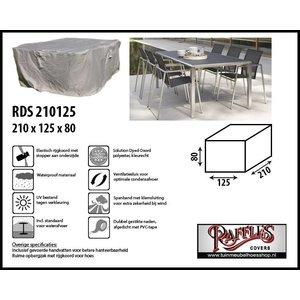 Tuinmeubelhoes voor tafel met stoelen, 210 x 125 H: 80 cm