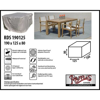 Raffles Covers Beschermhoes complete tuinset 190 x 125 H: 80 cm
