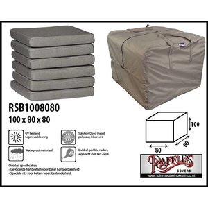 Beschermhoes voor lounge kussens, 100 x 80 H: 80 cm