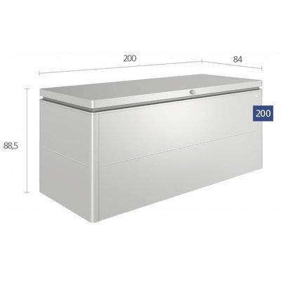 Biohort Grote kist voor loungekussens 200 x 84 H: 88,5 cm
