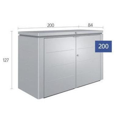 Biohort Tuinkast voor kussens  200 x 84 H: 127 cm