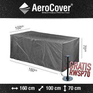 AeroCover tuintafelhoes, 160 x 100 H: 70 cm