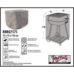 Afdekhoes voor vierkante BBQ, 75 x 75 H: 110 cm