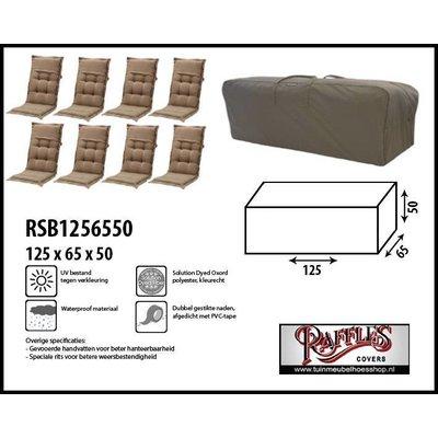 Raffles Covers Tuinkussen opbergtas 125 x 65 H: 50 cm