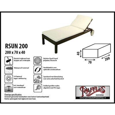 Raffles Covers Beschermhoes voor ligbed 200 x 70 H: 40 cm