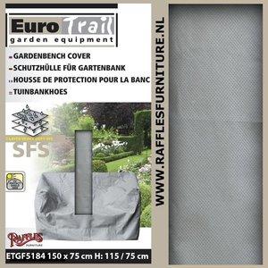 Beschermhoes tuinbank, 150 x 75 H: 115 cm