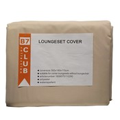 Beach 7 Tuinset of lounge set hoes, 300  x 180  H: 115 cm
