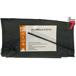 Hoes parasol, H: 240 cm