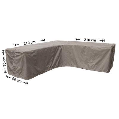 Raffles Covers Hoes voor hoekbank 210 x 210 x 90 H: 70 cm