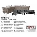 Raffles Covers Hoes voor hoeklounge, 270 x 270 x 100 H: 70 cm