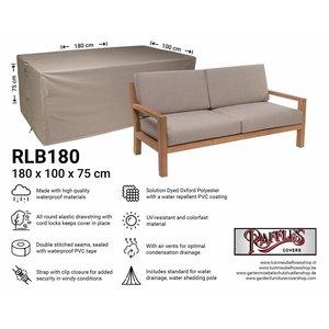 Hoes voor lounge bank, 180 x 100 H: 75 cm