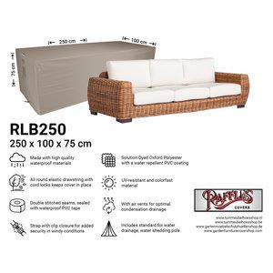 Afdekhoes loungebank, 250 x 100 H: 75 cm