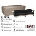 Raffles Covers Hoes voor loungebank, 270 x 100 H: 75 cm