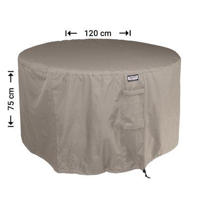 Raffles Covers Hoes voor ronde tuintafel Ø 120 cm & H: 75 cm