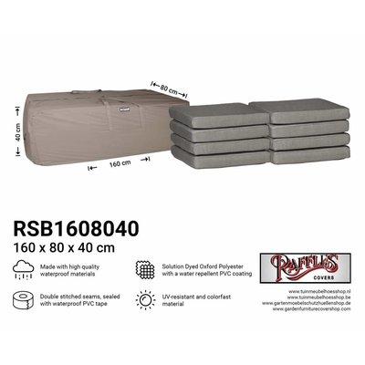 Raffles Covers Kussentas lounge kussens 160 x 80 H: 40 cm