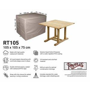 Hoes voor tuintafel, 105 x 105 H: 75 cm