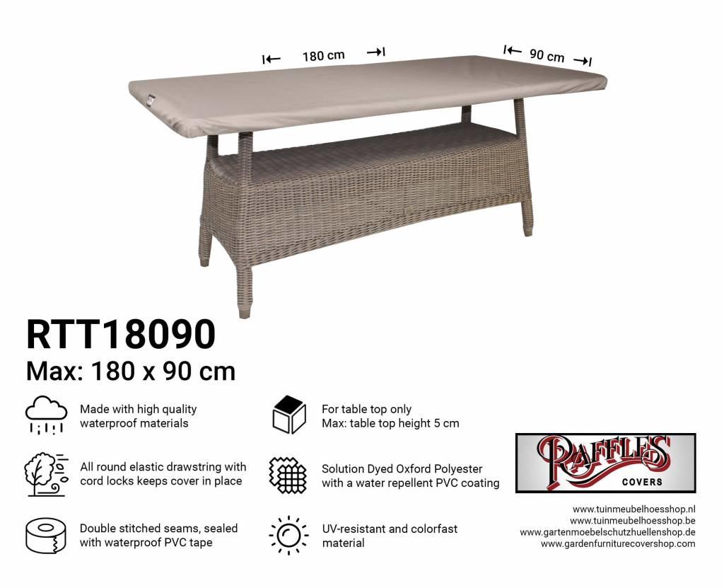 Tafelblad 200 X 90.Afdekhoes Tafelblad 180 X 90 Cm