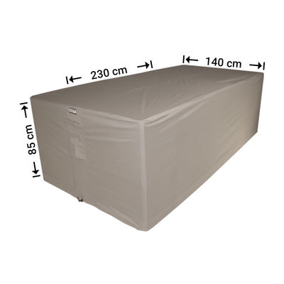 Raffles Covers !!PRE-ORDER - AFWIJKENDE LEVERTIJDEN!! Afdekhoes tuinset 230 x 140 H: 85 cm