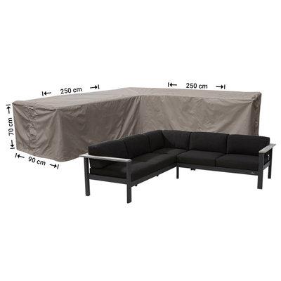 Raffles Covers !!PRE-ORDER - AFWIJKENDE LEVERTIJDEN!! Hoes loungeset hoek 250 x 250 x 90 H: 70 cm