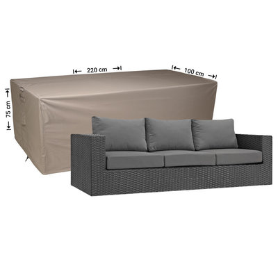 Raffles Covers !!PRE-ORDER - AFWIJKENDE LEVERTIJDEN!! Hoes voor loungebank 220 x 100 H: 75 cm