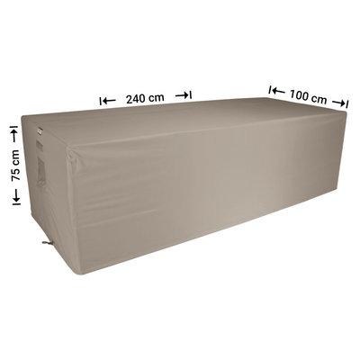 Raffles Covers !!PRE-ORDER - AFWIJKENDE LEVERTIJDEN!! Tuinhoes loungebank 240 x 100 H: 75 cm