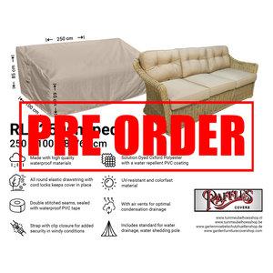 !!PRE-ORDER!! Hoes loungebank, 250 x 100 H: 85 / 65 cm
