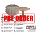 Raffles Covers !!PRE-ORDER!! Hoes voor ronde tuintafel, Ø 120 cm & H: 75 cm