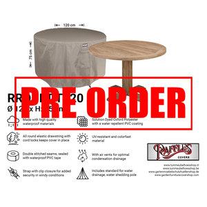 !!PRE-ORDER!! Hoes voor ronde tuintafel, Ø 120 cm & H: 75 cm