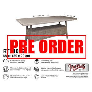 !!PRE-ORDER!! Afdekhoes tafelblad, 180 x 90 cm