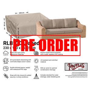 !!PRE-ORDER!! Loungebank beschermhoes, 230 x 100 H: 85 / 65 cm