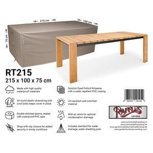 Tuinhoes tafel, 215x 100 H: 75 cm