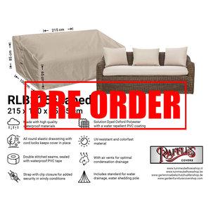 !!PRE-ORDER!! Hoes voor loungebank, 215 x 100 H: 85 / 65 cm