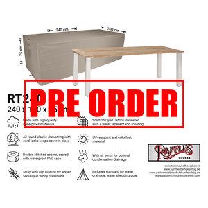 !!PRE-ORDER!! Tuintafel afdekhoes, 240 x 100 H: 75 cm