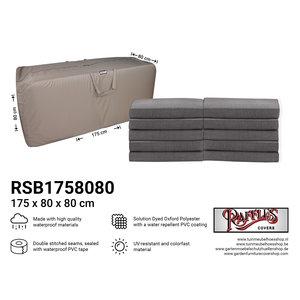 Tas voor lounge kussens, 175 x 80 H: 80 cm