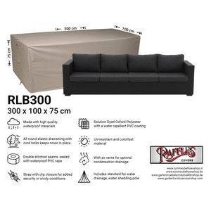 Hoes voor loungebank, 300 x 100 H: 75 cm