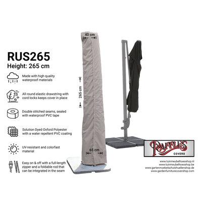 Raffles Covers Parasolhoes met stok 265 cm