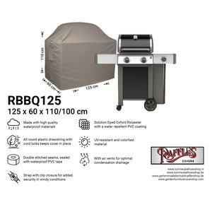 Barbecue beschermhoes, 125 x 60 H: 110 / 100 cm