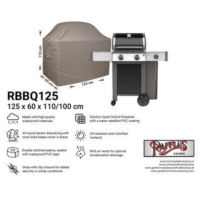 Raffles Covers Barbecue beschermhoes 125 x 60 H: 110 / 100 cm
