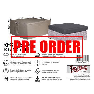 Raffles Covers !!PRE-ORDER - AFWIJKENDE LEVERTIJDEN!! Hockerhoes 105 x 105 H: 45 cm