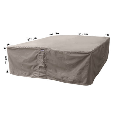 Raffles Covers Loungeset afdekhoes 275 x 215 H: 70 cm
