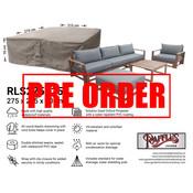 Raffles Covers !!PRE-ORDER - AFWIJKENDE LEVERTIJDEN!! Loungeset afdekhoes 275 x 215 H: 70 cm