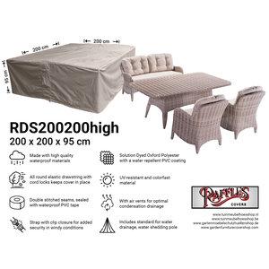 Loungeset hoes, 200 x 200 H: 95 cm