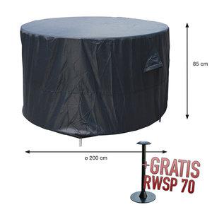 Ronde tuinset afdekhoes Ø 200 cm H: 85 cm