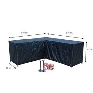 Hoes voor loungeset, 270 x 270 H: 70 cm