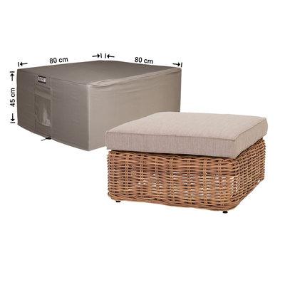 Raffles Covers Hoes voor tafel loungeset 80 x 80 H: 45 cm