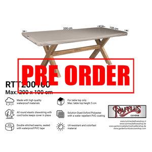!!PRE-ORDER!! Hoes voor tafelblad tuintafel, 200 x 100 cm